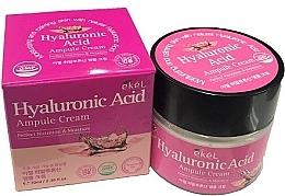 Parfémy, Parfumerie, kosmetika Ampulový pleťový krém s kyselinou hyaluronovou - Ekel Hyaluronic Acid Ampule Cream