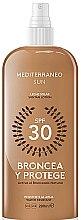 Parfémy, Parfumerie, kosmetika Olej na opalování - Mediterraneo Sun Suntan Lotion SPF30