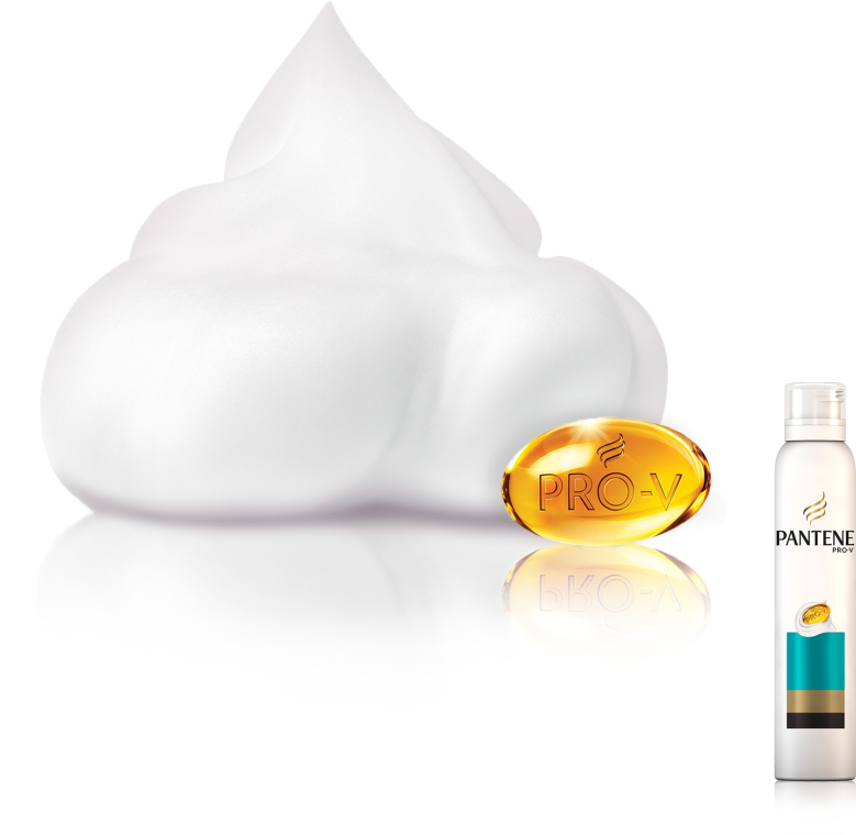 Jemná pěna-kondicionér na vlasy - Pantene Pro-V Aqua Light Foam Conditioner — foto N4