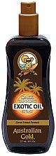 Parfémy, Parfumerie, kosmetika Olej ve spreji na posílení opalování - Australian Gold Dark Tanning Exotic Oil Spray