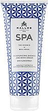 Parfémy, Parfumerie, kosmetika Sprchový krém - Kallos Cosmetics SPA Moisturizing Shower and Bath Cream With Algae Extract
