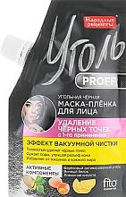 Parfémy, Parfumerie, kosmetika Černá slupovací pleťová maska s uhlím - Fito Kosmetik Uhlí Proff Lidové recepty