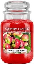 Parfémy, Parfumerie, kosmetika Aromatická svíčka - Country Candle Macintosh Apple