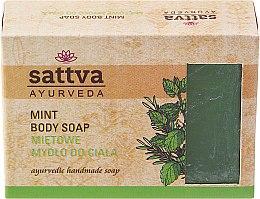 Parfémy, Parfumerie, kosmetika Mýdlo - Sattva Hand Made Soap Mint