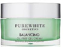 Parfémy, Parfumerie, kosmetika Pleťový gel krém - Pure White Cosmetics Balancing Oil-Free Gel Cream