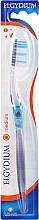 Parfémy, Parfumerie, kosmetika Zubní kartáček Inter-Active střední, modrý - Elgydium Inter-Active Medium Toothbrush