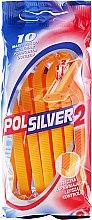 Parfémy, Parfumerie, kosmetika Sada jednorázových holicích strojů, 10ks - Polsilver 2