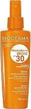Parfémy, Parfumerie, kosmetika Opalovací sprej pro citlivou pokožku - Bioderma Photoderm Bronz SPF30 Protection Spray