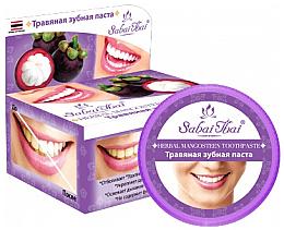 Parfémy, Parfumerie, kosmetika Zubní pasta s mangustinem - Sabai Thai Herbal Mangosteen Toothpaste