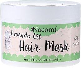 Parfémy, Parfumerie, kosmetika Maska na vlasy - Nacomi Natural With Keratin & Avocado Oil Hair Mask