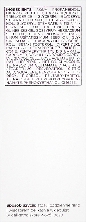 Hydratační gel krém na oči 30-40+ - Dermika Re.Visage — foto N3
