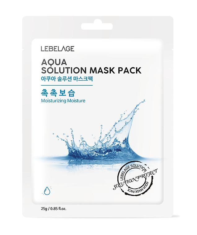 Pleťová maska látková - Lebelage Aqua Solution Mask