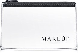 """Parfémy, Parfumerie, kosmetika Transparentní kosmetická taštička """"Flat Glow"""" 21x12cm - MakeUp"""
