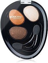 Parfémy, Parfumerie, kosmetika Oční stíny - Deborah Hi-Tech Eye Shadow Trio