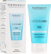 Parfémy, Parfumerie, kosmetika Enzymový peeling na obličej a krk - Dermedic Hydrain3 Hialuro Peel