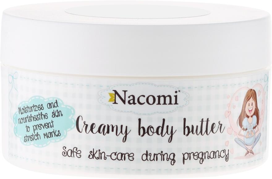 Tělový olej - Nacomi Pregnant Care Creamy Body Butter — foto N1