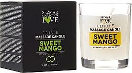 """Parfémy, Parfumerie, kosmetika Přírodní masážní svíčka """"Mango"""" - Sezmar Collection"""