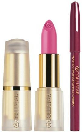 """Sada - Collistar Puro Lipstick Kit """"Enchanted Cyclamen"""" (lipstik/4.5ml + pen/1.2g) — foto N1"""
