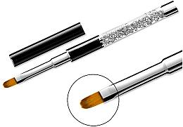 Parfémy, Parfumerie, kosmetika Štětec na manikúru 11, oválný - Elisium