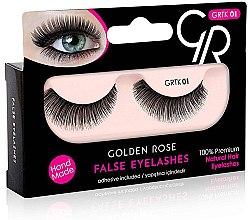 Parfémy, Parfumerie, kosmetika Umělé řasy - Golden Rose False Eyelashes