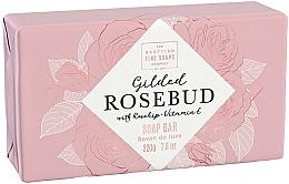 Parfémy, Parfumerie, kosmetika Tělové mýdlo Růžové pupeny - Scottish Fine Soap Gilded Rosebud Luxury Wrapped Soap