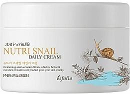 Parfémy, Parfumerie, kosmetika Vyživující krém s hlemýždím mucinem - Esfolio Nutri Snail Daily Cream