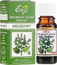 Parfémy, Parfumerie, kosmetika Přírodní éterický olej Melissa - Etja Natural Essential Oil