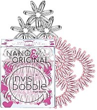 Parfémy, Parfumerie, kosmetika Sada gumiček na vlasy, 6 ks - Invisibobble Nano & Original Bee Mine