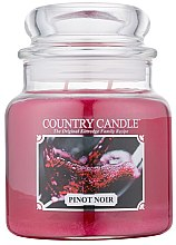 Parfémy, Parfumerie, kosmetika Vonná svíčka - Country Candle Pinot Noir