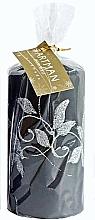 Parfémy, Parfumerie, kosmetika Dekorativní svíčka, černá, 7x14 cm - Artman Amelia