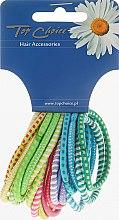 Parfémy, Parfumerie, kosmetika Gumičky na vlasy 20 ks, mix barev, 22166 - Top Choice