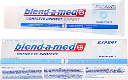 Parfémy, Parfumerie, kosmetika Zubní pasta - Blend-a-med Complete Protect Expert Healthy White Toothpaste