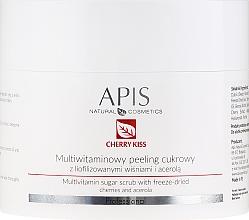 Parfémy, Parfumerie, kosmetika Multivitaminový cukrový peeling - APIS Professional Cheery Kiss