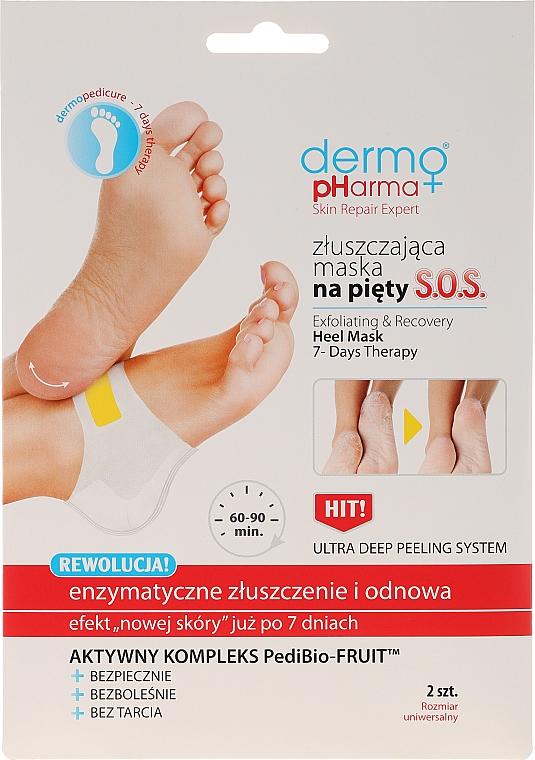 Exfoliační maska na paty - Dermo Pharma Skin Repair Expert