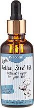 Parfémy, Parfumerie, kosmetika Olej na vlasy ze semen bavlny s kapátkem - Nacomi Cotton Seed Oil