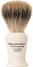 Parfémy, Parfumerie, kosmetika Štětka na holení, P376 - Taylor of Old Bond Street Shaving Brush Pure Badger size L