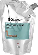 Parfémy, Parfumerie, kosmetika Zjemňující krém pro přírodní vlasy - Goldwell Structure + Shine Agent 1 Regular 1
