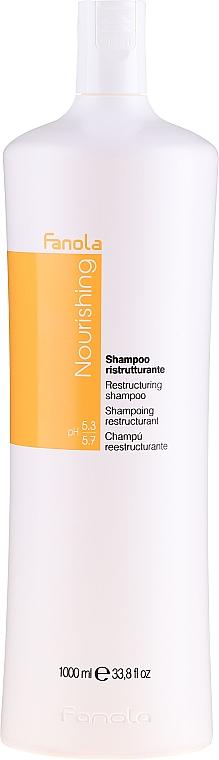 Restrukturalizační šampon pro suché vlasy - Fanola Restructuring Shampoo