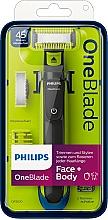 Parfémy, Parfumerie, kosmetika Trimmer na obličej a tělo - Philips OneBlade Face + Body QP2620/20