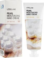 Parfémy, Parfumerie, kosmetika Zesvětlující krém na ruce - Lebelage Pearl Moisturizing Hand Cream