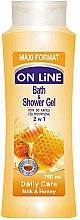 Parfémy, Parfumerie, kosmetika Sprchový gel-pěna - On Line Daily Care Bath & Shower Gel