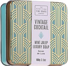 Parfémy, Parfumerie, kosmetika Mýdlo na ruce a tělo - The Scottish Fine Soaps Company Vintage Cocktail Mint Julep Luxury Soap