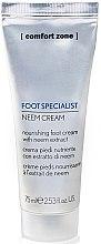 Parfémy, Parfumerie, kosmetika Výživný krém na nohy - Comfort Zone Foot Specialist Neem Cream