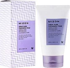 Parfémy, Parfumerie, kosmetika Čistící pěna-scrub - Mizon Great Pure