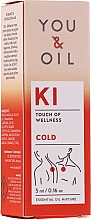 Parfémy, Parfumerie, kosmetika Směs esenciálních olejů - You & Oil KI-Cold Touch Of Welness Essential Oil