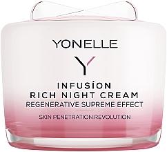 Parfémy, Parfumerie, kosmetika Noční krém na obličej a krk - Yonelle Infusion Rich Night Cream