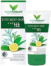 Parfémy, Parfumerie, kosmetika Pleťový krém, noční - Cosnature Night Cream Detox Green Tea