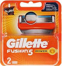 Parfémy, Parfumerie, kosmetika Náhradní kazety na holení - Gillette Fusion Power