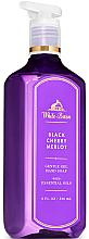 Parfémy, Parfumerie, kosmetika Gelové mýdlo na ruce - Bath and Body Works White Barn Black Cherry Merlot Gentle Gel Hand Soap