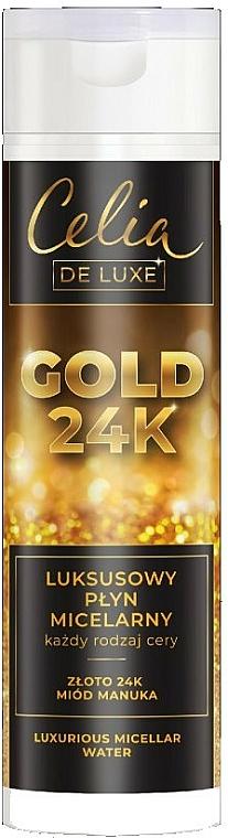 Luxusní micelární voda - Celia De Luxe Gold 24k